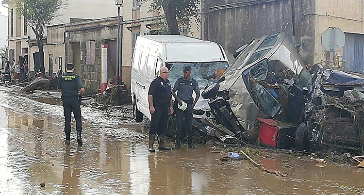 Poliser på Mallorca.