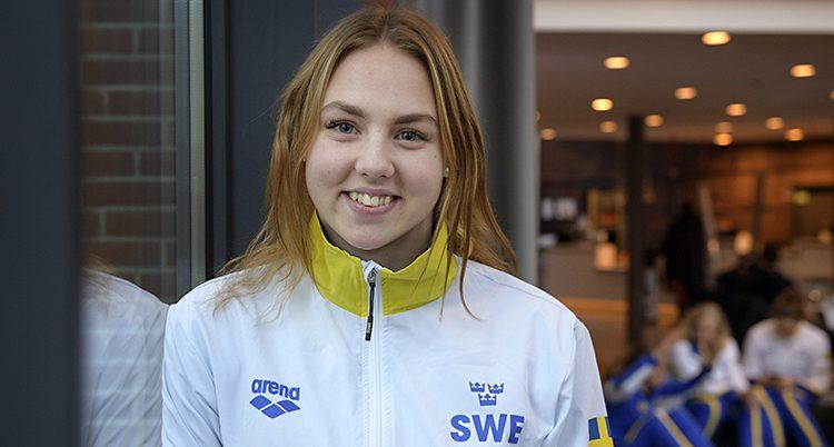 Sara Junervik vann guld