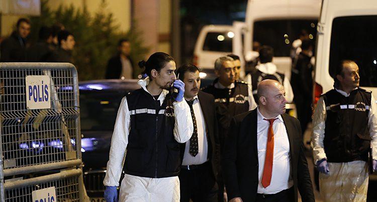 Turkiska poliser