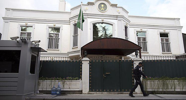 Saudiarabiens kontor i Istanbul