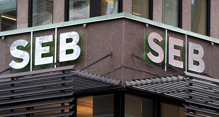 Ett av banken SEBs kontor.