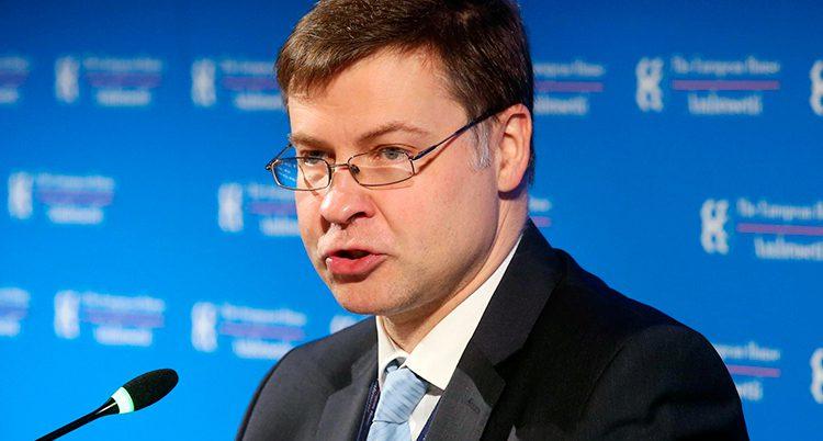 Valdis Dombrovskis i EU-kommissione