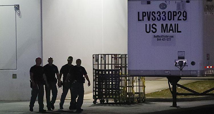 Poliser söker efter bomber i USA