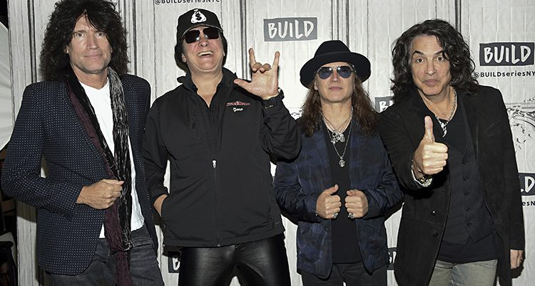 Rockbandet Kiss kommer till Sverige