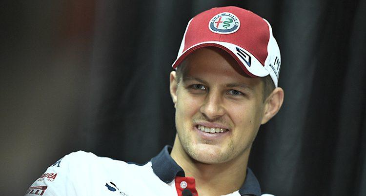 Racerföraren Marcus Eriksson
