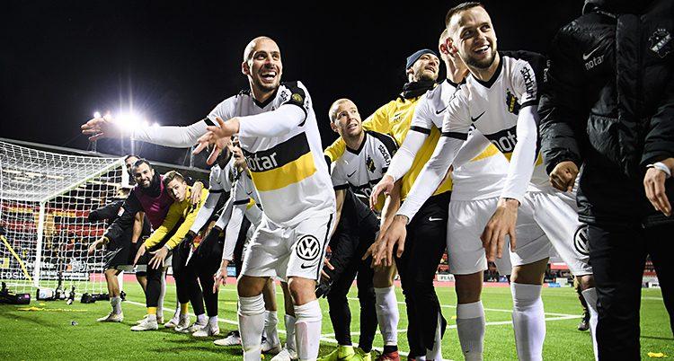 AIK firar segern mot Östersund