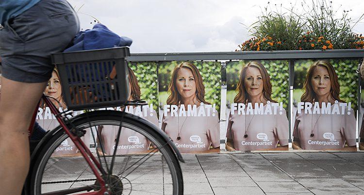 Centerpartiets affischer