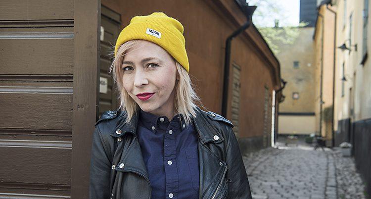 Författaren Jenny Jägerfeld
