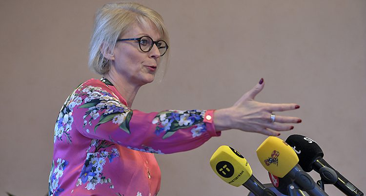 Elisabeth Svantesson i Moderaterna.