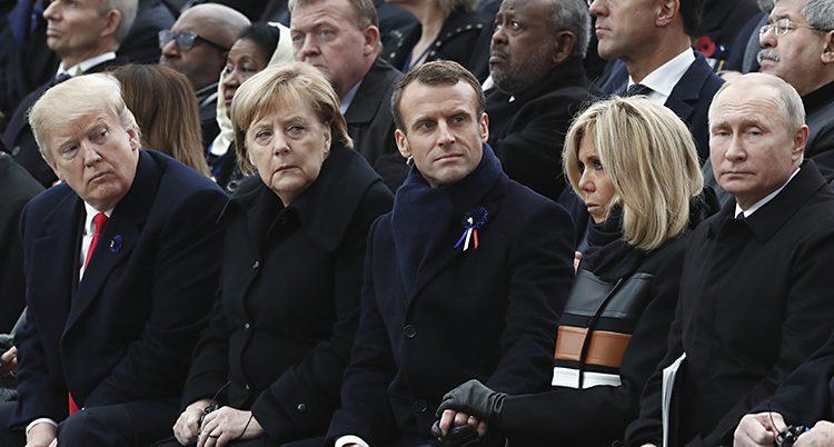 Många länders ledare var där