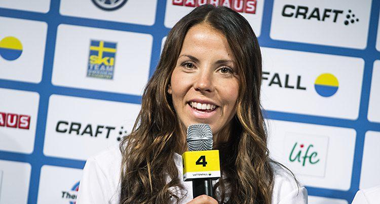 Skidåkaren Charlotte Kalla