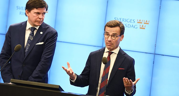 Ulf Kristersson vill bilda regering