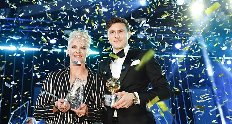 Nilla Fischer och Viktor Nilsson Lindelöf