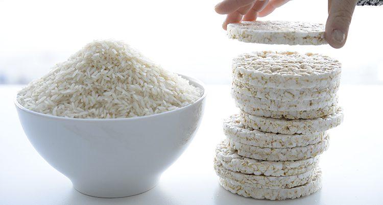Ris och riskakor.