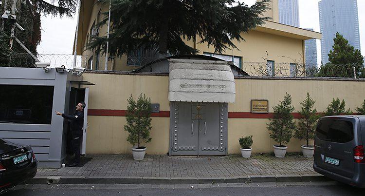 Saudiarabiens kontor i Turkiet