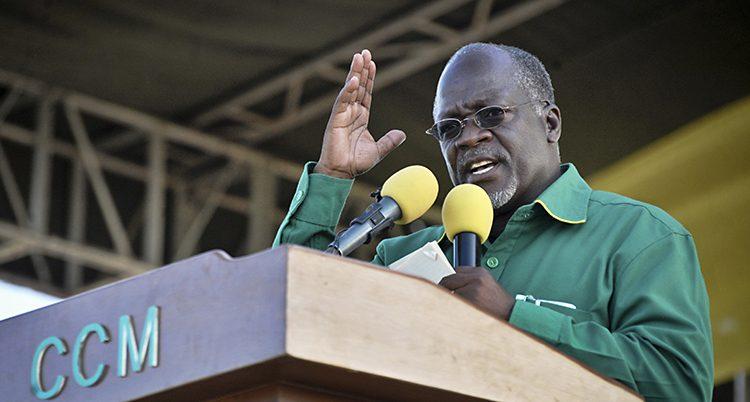 Tanzanias president John Magufu