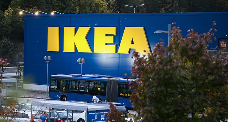 Ett av Ikeas varuhus.