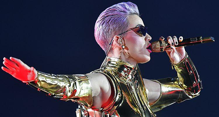 Sångerskan Katy Perry.