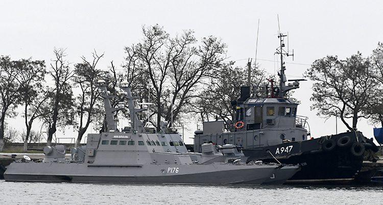 Båtarna som Ryssland stoppade.