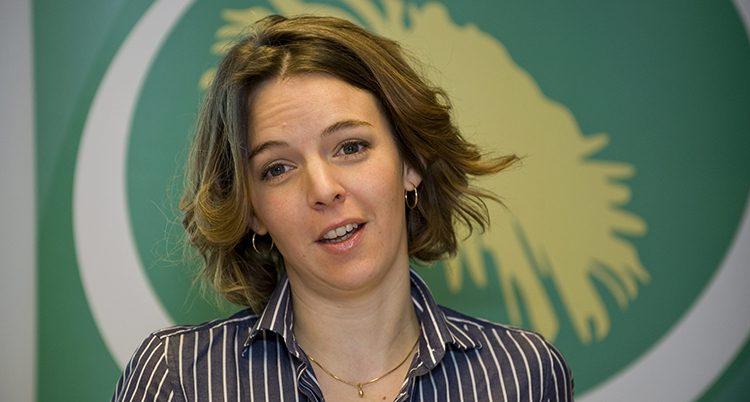 Svenska kvinnan Zaida Catalán.