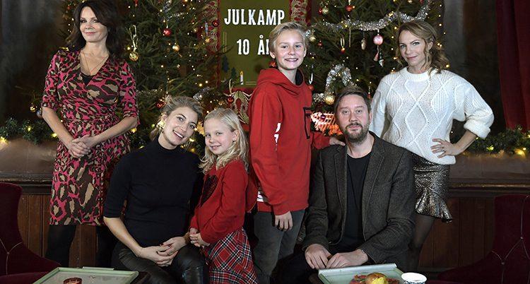 Skådespelare i julkalendern 2018 i SVT.