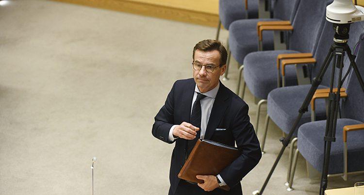 Riksdagen röstade nej till Ulf Kristersson