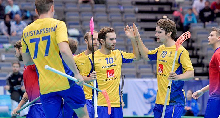 Sverige har gjort mål.