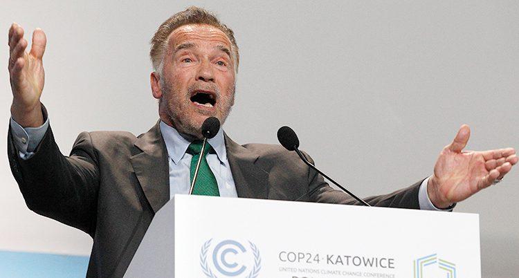 Arnold Schwarzenegger på klimatmötet