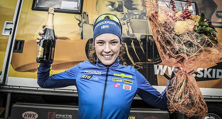 Hanna Öberg gjorde årets idrottsbragd.