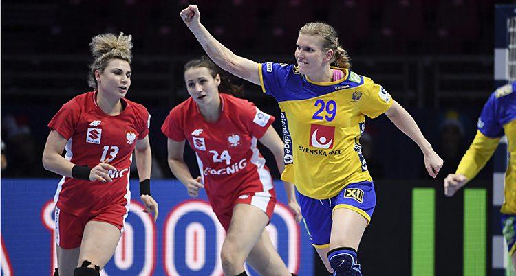 Jenny Alm i Sveriges lag