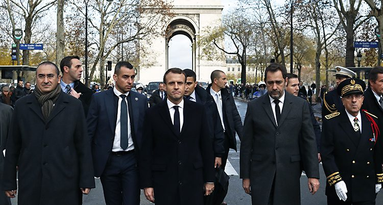 Frankrikes ledare Emmanuel Macron