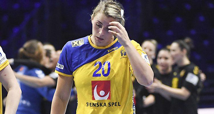 Bella Gulldén deppar efter Sveriges förlust