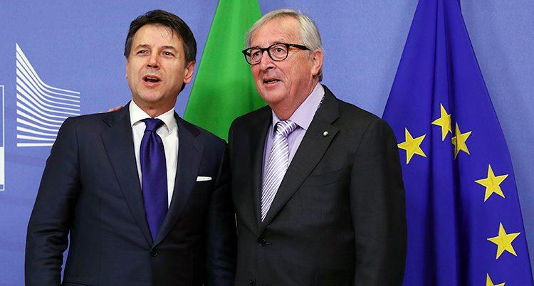 Ledare för Italien och EU.