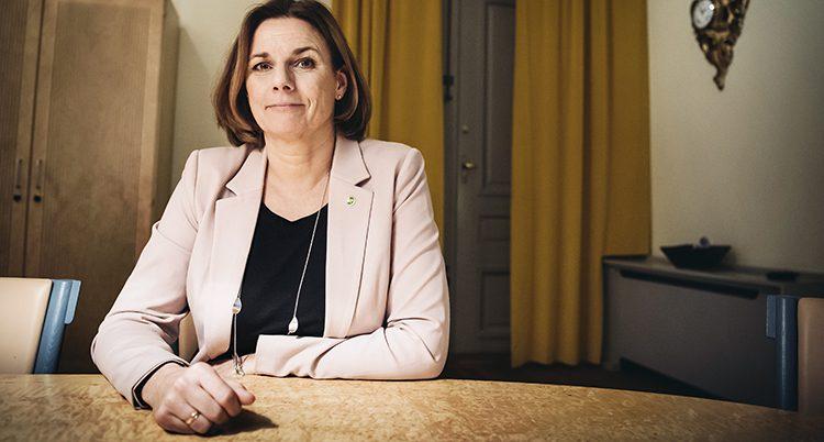 Politikern Isabella Lövin.