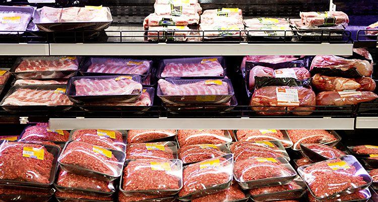 Folk i Sverige äter mindre kött.