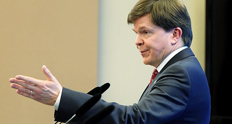 Talmannen Andreas Norlén