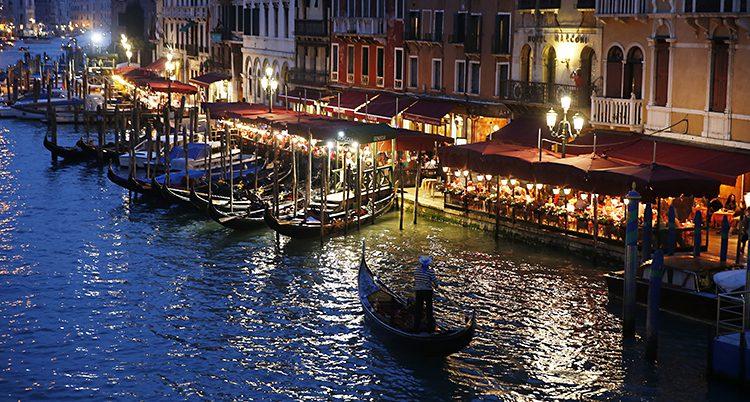 Staden Venedig.