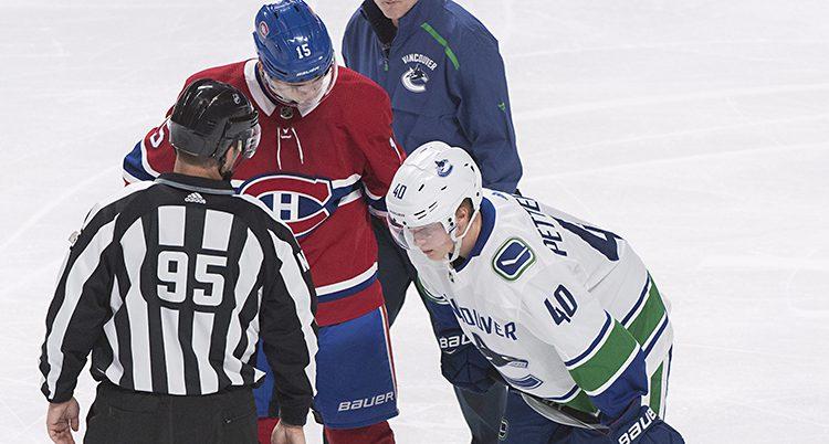 Elias Pettersson är skadad.