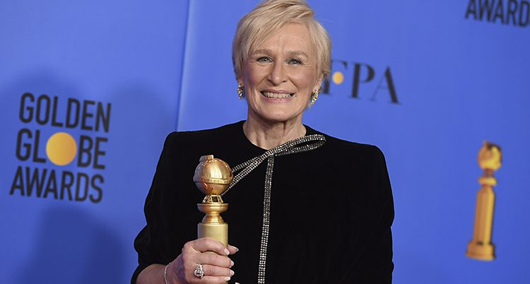 Glenn Close fick pris.