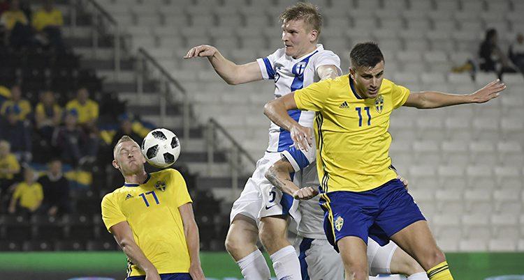 Finland vann mot Sverige.