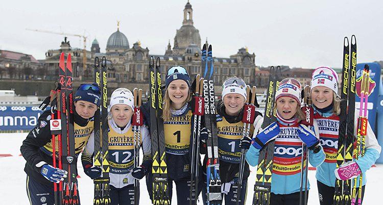 Svenskorna gjorde succé i sprint