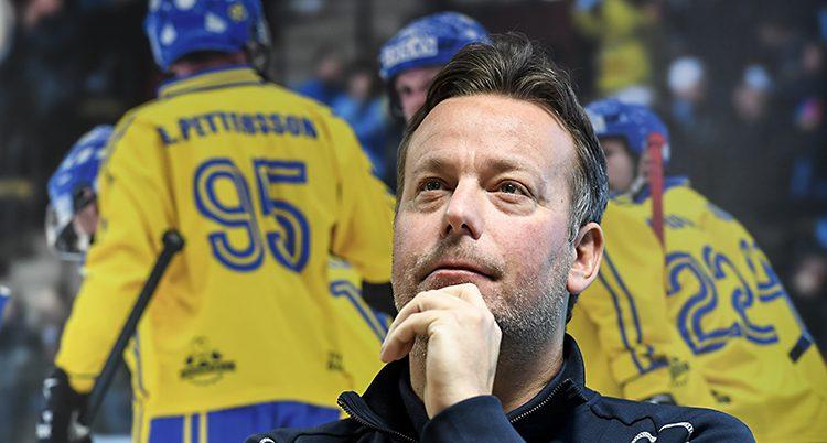 Sveriges lagledare Svenne Olsson