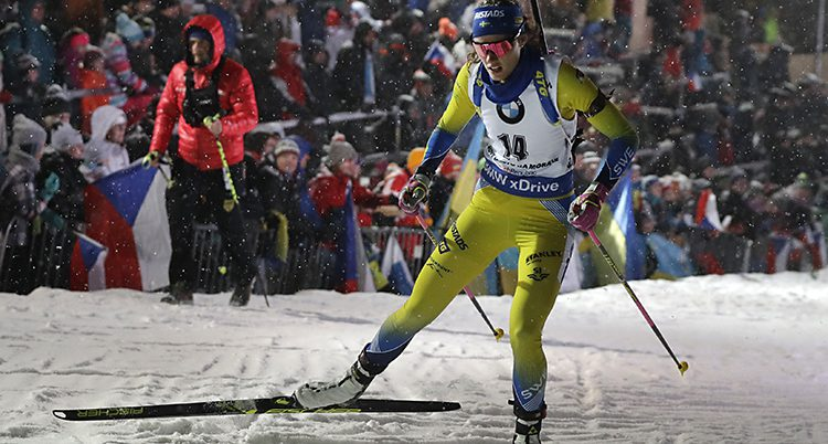 Hanna Öberg i skidspåret