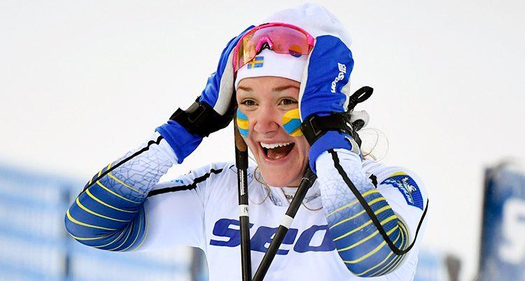 Moa Lundgren vann guld.