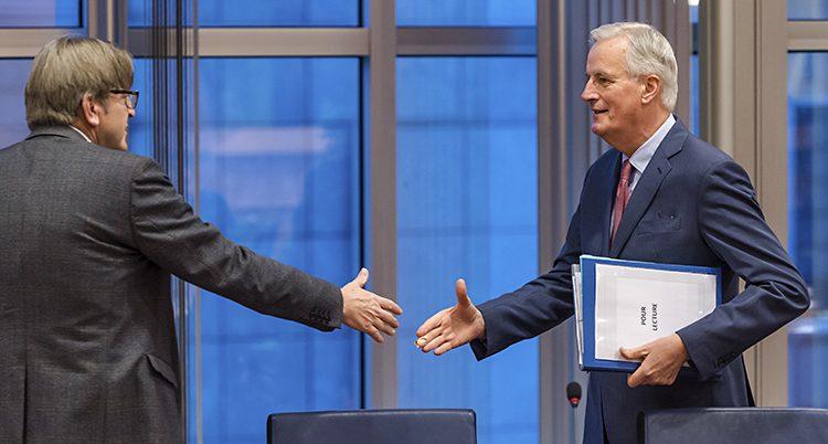 Politiker från EU och Storbritannien träffas