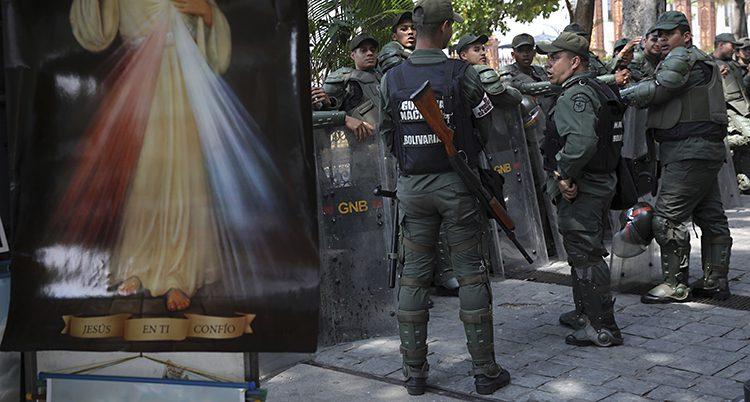 Militärer i Venezuela.