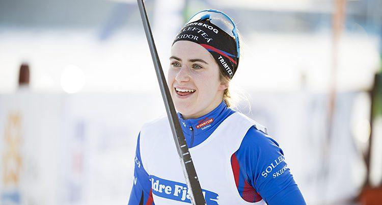 Ebba Andersson vann guld