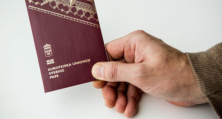 Ett svenskt pass