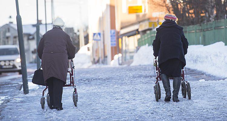 Två pensionärer.