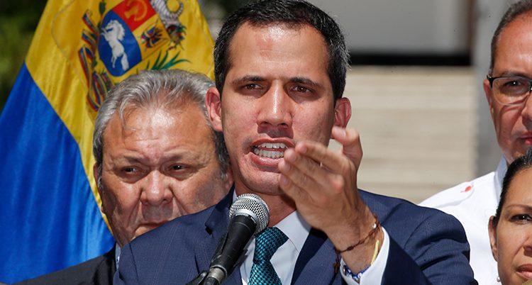 Juan Guaido vill styra Venezuela